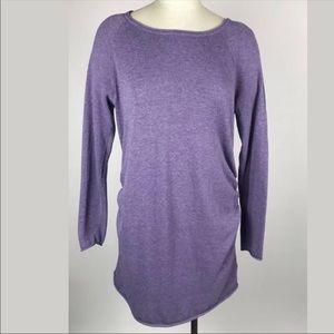 Liz Lange Maternity Lavender Long Sleeve Dress